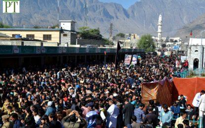 گلگت شہر میں عاشورہ کے مرکزی جلوس میں 26 دستے شامل، سخت سیکیورٹی انتظامات