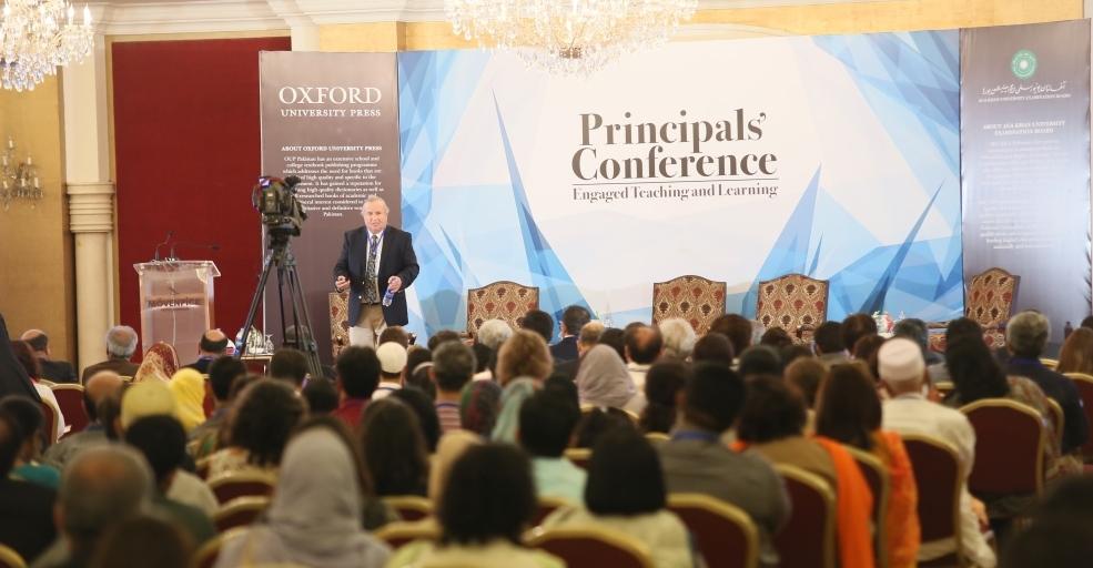 آغا خان یونیورسٹی ایگزامینیشن بورڈ کے زیر اہتمام کراچی میں پرنسپلز کانفرنس کا انعقاد