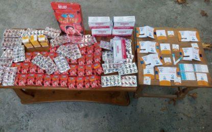 چترال لیویزکی ارندو کے سرحدی قصبے میں کاروائی، افغان سیم،موبائل فونز اور انڈین برانڈ کی ادویات برآمد