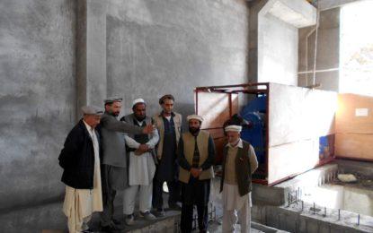 پاؤر کمیٹی چترال کے بنیادی اراکین کا گولین دو میگاواٹ بجلی گھر کا معائنہ،کام کی رفتار پر اطمینان کا اظہار