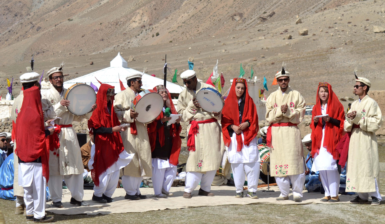 ضلع ہنزہ کے سرحدی علاقے چپورسن میں دو روزہ بابا غندی فیسٹیول اختتام پزیر ہوگیا