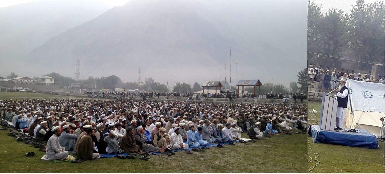 جماعت اسلامی کے زیر اہتمام سات روزہ فہم القرآن کلاس چترال پولو گراونڈ میں اختتام پذیر