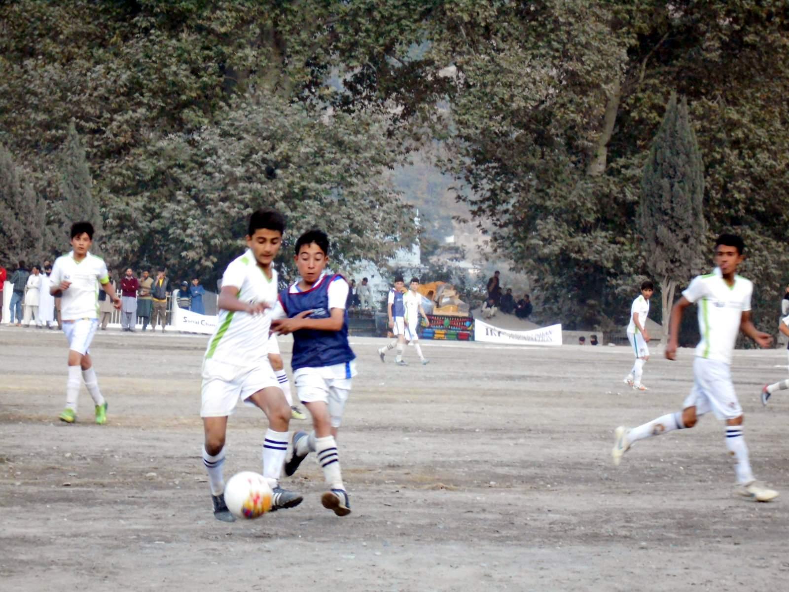 عمران خان فاؤنڈیشن انڈر 14فٹ بال ٹورنامنٹ اختتام پذیر ،چترال ٹاون کی ٹیم فاتح قرار پائی