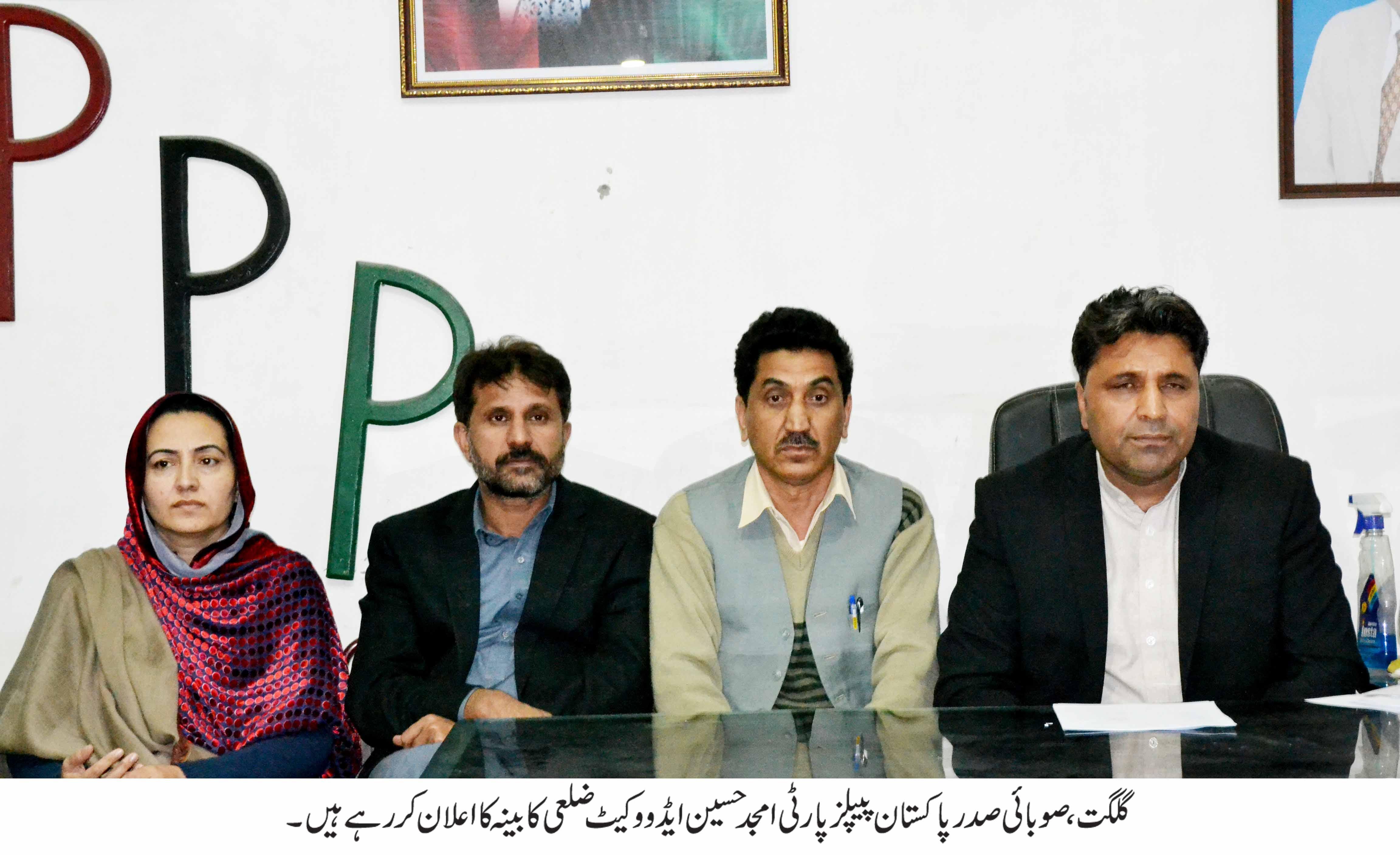 پاکستان پیپلز پارٹی نے سات اضلاع کے عہدیداروں کا اعلان کردیا