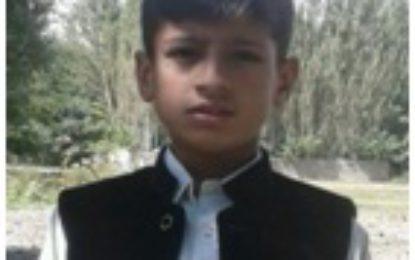 اسوہ پبلک سکول شگر کے طالبعلم محمد دانیال نے میدان مارلیا