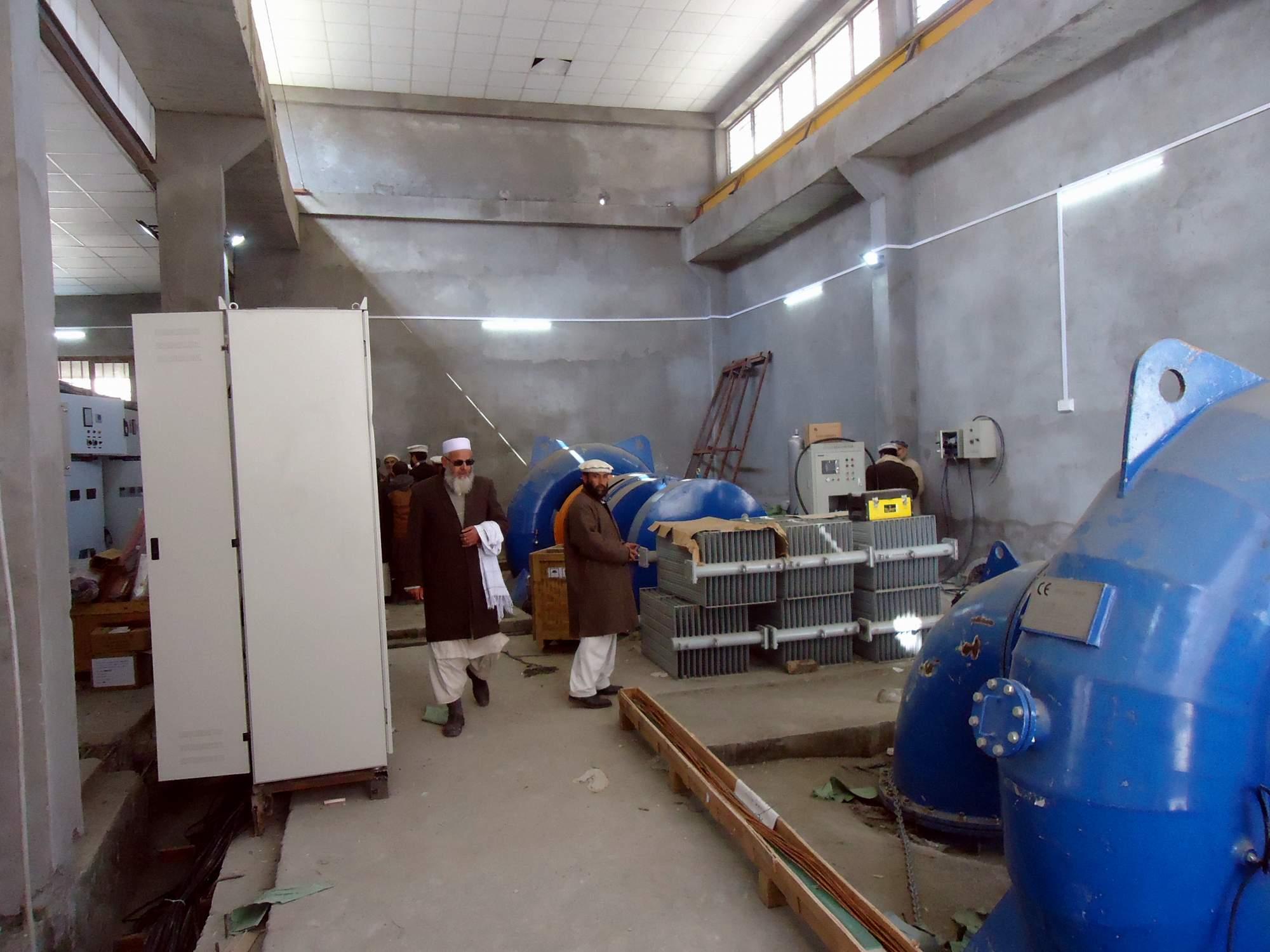یاسین : ذاتی جائیداد فروخت کرکے تھوئی پاور ہاوس کے تعمیراتی کام مکمل کیا، ٹھیکیدار