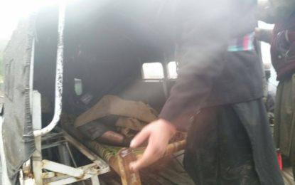کوہستان: دیامر سے پنڈی جاتےہوےکار شاہراہ قراقرم سے گہری کھائی میں جاگری ،4 افراد جاں بحق، 4زخمی