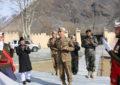 کورکمانڈر پشاور لفٹیننٹ جنرل نذیر احمد بٹ کا چترال ٹاسک فورس کا دورہ