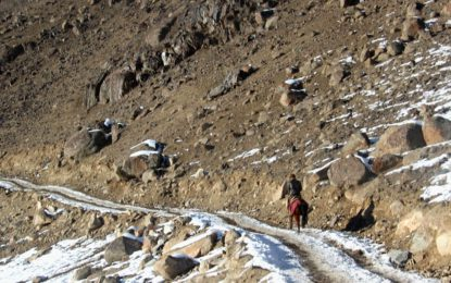 وادی یارخون میں برف باری کے بعد سڑکیں بند، عوام شدید مشکلات سے دوچار ہیں- ممبر تحصیل کونسل یارخون