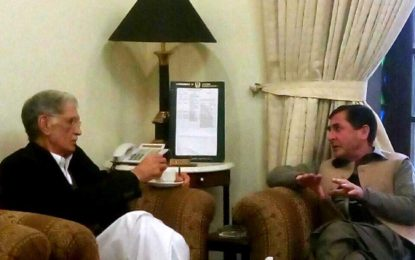 ایم پی اے سید سردارحسین کی وزیر اعلیٰ کے پی کے سے تفصیلی ملاقات،مختلف ہائی سکولوں کو سیکنڈری سکول کا درجہ دینے سمیت مختلف منصوبوں کے لئے فنڈز کی منظوری