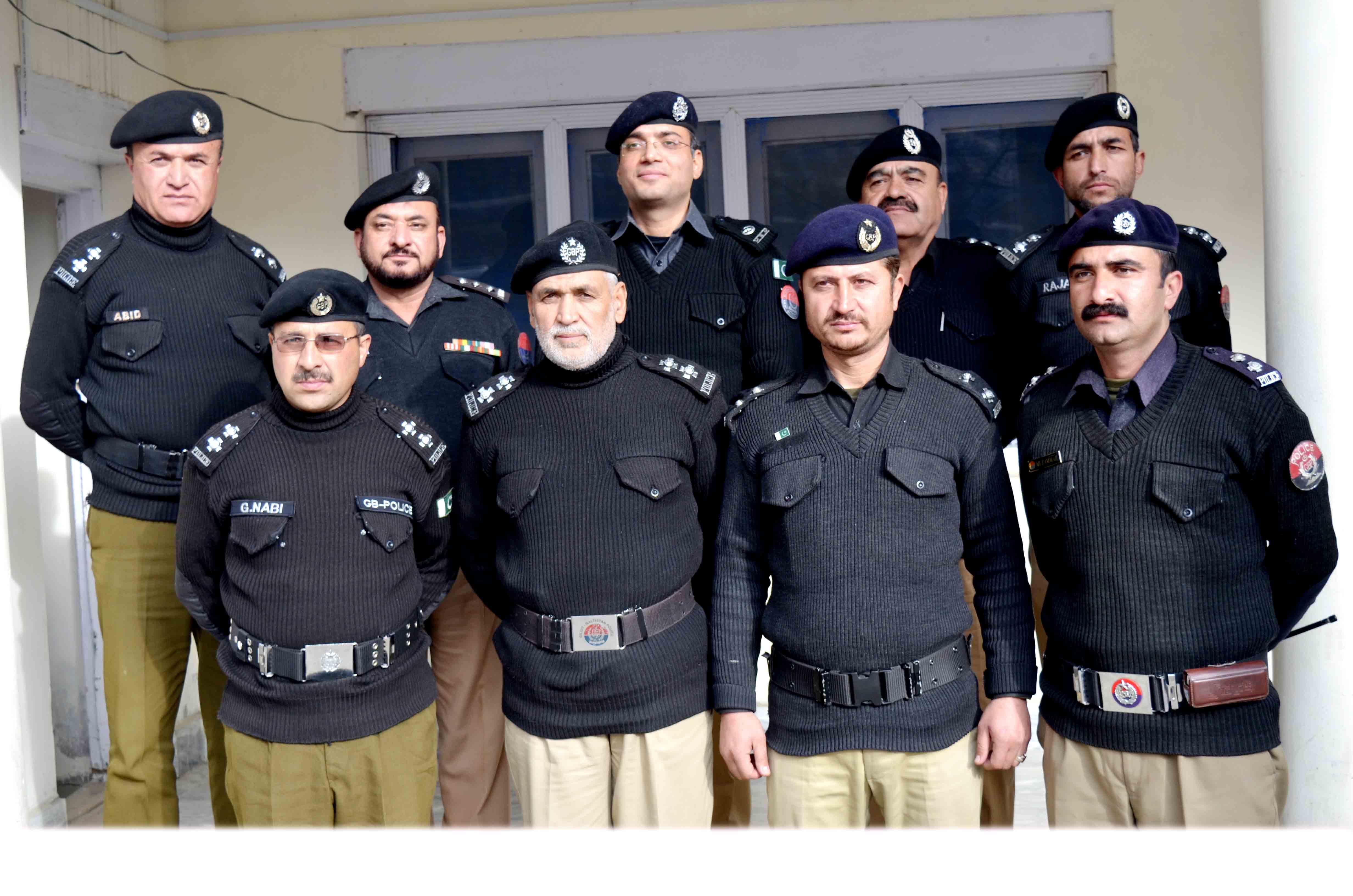 اچھی کارکردگی دکھانے پر ہنزہ پولیس کے افسران اور جوانوں کو نقد انعامات اور اسناد سے نوازا گیا