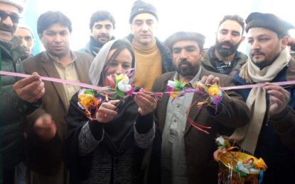 عشیریت میں 50 کلوواٹ بجلی گھر کا افتتاح، چترال میں 55 چھوٹے بجلی گھر بنائے جارہے ہیں