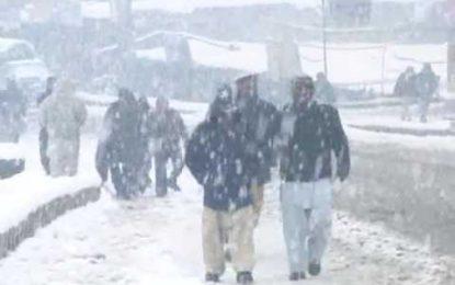 کھرمنگ: ضلع بھرمیں تیسرے روز بھی شدید برف باری جاری رہی