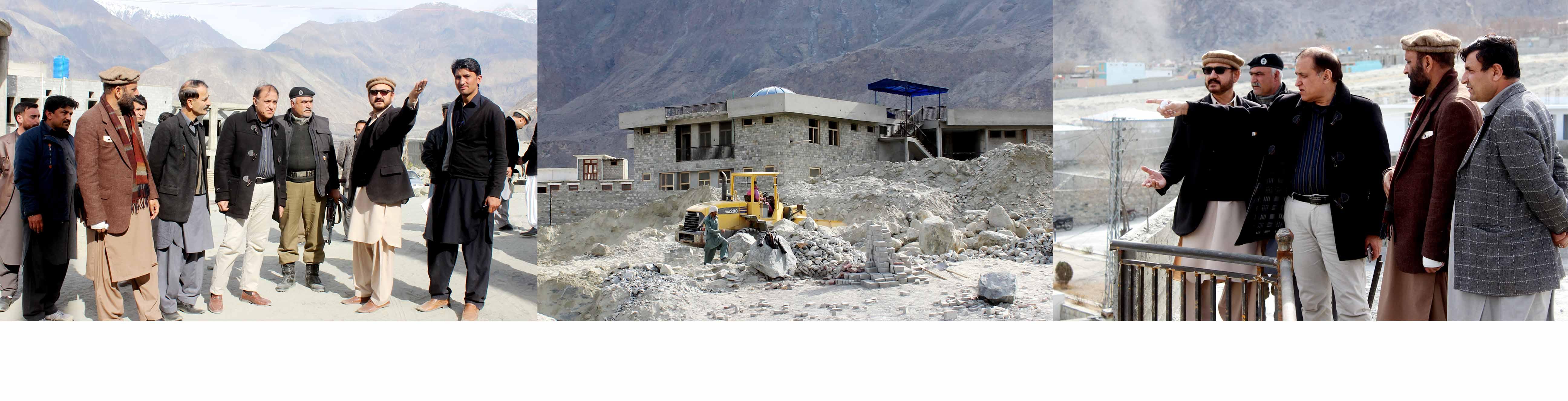 وزیر تعمیرات نےمتعلقہ حکام کو اسمبلی بلڈنگ کو جلد از جلد تعمیرکی ہدایات جاری کئے