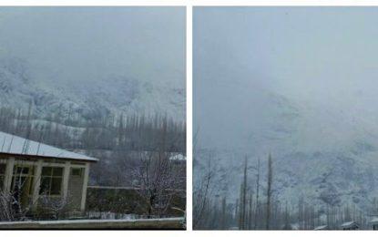 یاسین میں شدید برفباری ۔بجلی،پانی اور رابط سٹرکیں بند