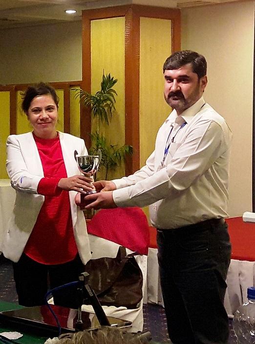 انسانی حقوق کے بہترین علاقائی کوآرڈینیٹر کا ایوارڈ گلگت بلتستان کے مایہ ناز سپوت اسرار الدین اسرار کے نام