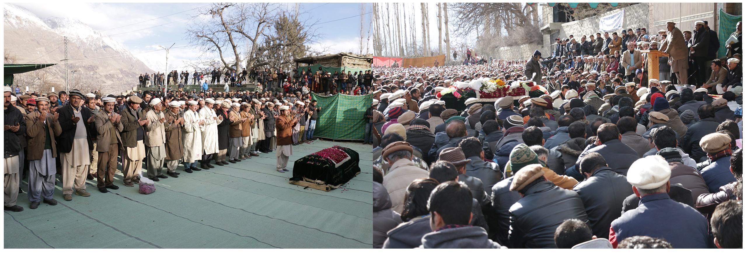 علامہ نصیر الدین ہنزائی حیدر آباد میں سپردِ خاک