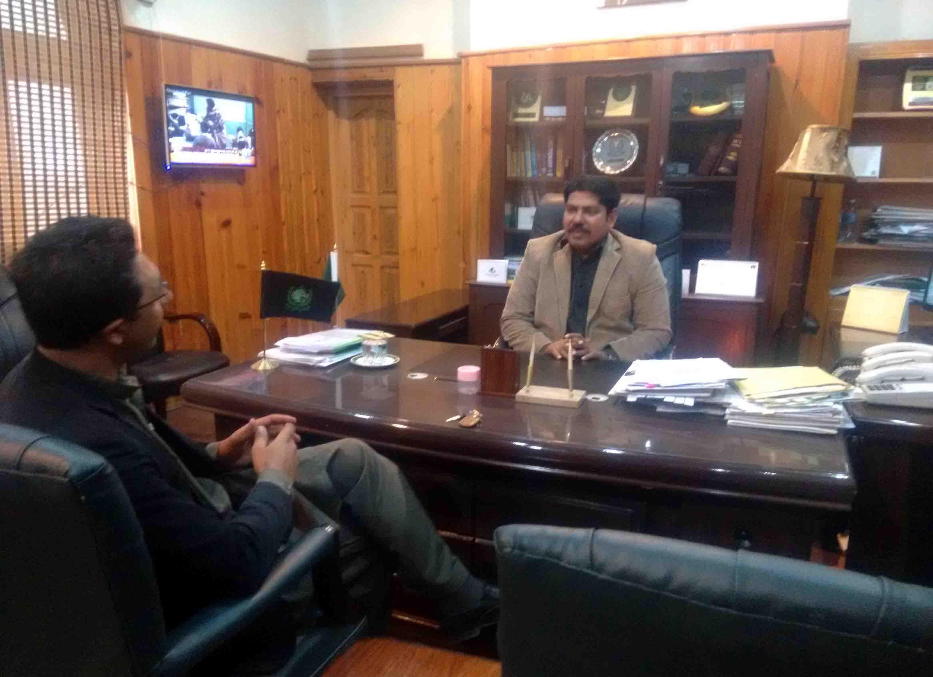 گلگت بلتستان کے کچھ اضلاع میں سیکورٹی تھریٹ کی وجہ سے سیکورٹی کے انتظامات کو مزید سخت کردیا ہے۔ہوم سیکرٹری گلگت بلتستان