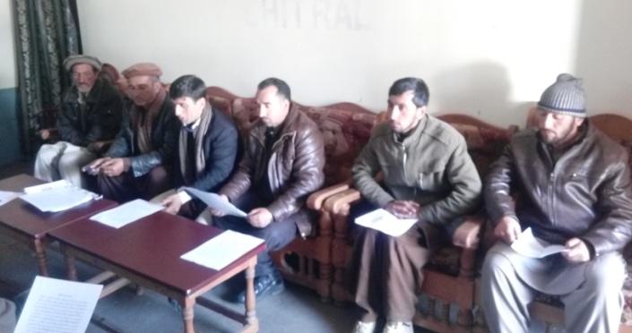 شیرشال کریم آبادکے58 گھرانوں کو کسی محفوظ جگہ پر منتقل کیا جائے، متاثرین کاپریس کانفرنس