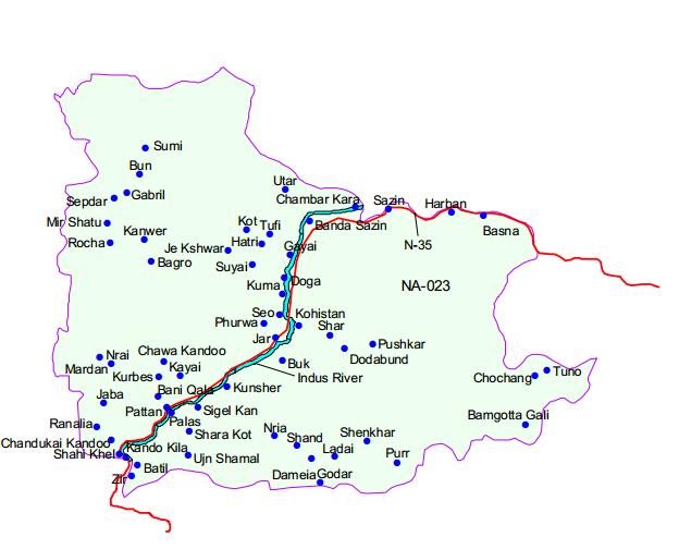 تحریک انصاف نے کوہستان میں تیسرا ضلع بنانے کا فیصلہ کرلیا
