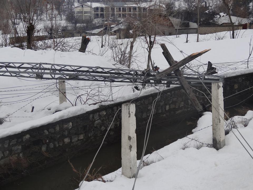 سکردو : ایک ہفتہ گزر گیا، شدید برفباری کے بعد بلتستان بھر میں نظام زندگی بحال نہ ہوسکی