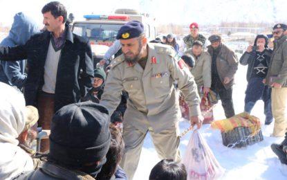 پاک آرمی اور چترال سکاؤٹس کی مشترکہ ریلیف اپریشن جمعرات کے روز بھی جاری رہی
