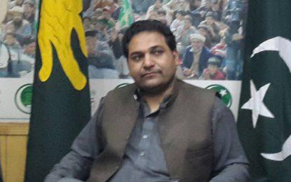پیپلز پارٹی کی کرپٹ قیادت احتجاجی دھرنے کا شوق پورا کریں۔ فیض اللہ فراق