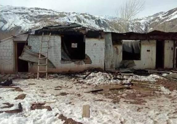 چترال: ریشن گاؤں میں نامعلوم شرپسندوں نے صوبیدار(ر) یفتالی شاہ کے گھر کوآگ لگادی