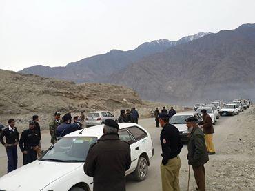 گلگت بلتستان میں تمام داخلی اور خا رجی راستوں پر چیکنگ سخت کر دی گئی ہے-وزیر اطلاعات