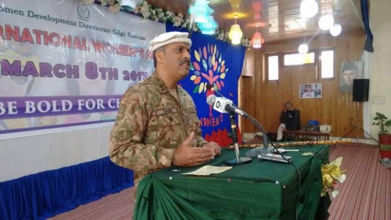 مردم شماری کے لئے موثر سیکیورٹی انتظامات کئے جائیں: فورس کمانڈر میجر جنرل ثاقب محمود