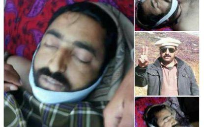 دیامر کے رہائشی نوجوان کا بالاکوٹ پولیس اہلکاروں کے ہاتھوں مبینہ قتل، لواحقین کا احتجاج