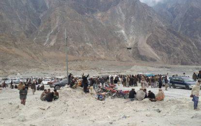 دیامر: گوہر آباد کے عوام نے سنگچل داس میں ڈیرے ڈال دئیے، زمین کی تقسیم شروع، سیکشن 9 کی دھجیاں اڑ گئیں