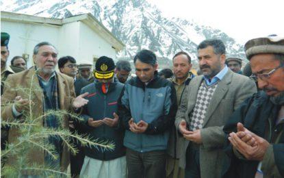 بلتستان ڈویژن میں شجرکاری مہم جاری، چاروں اضلاع میں مجموعی طور پر اڑھائی لاکھ پودے لگائے جائینگے