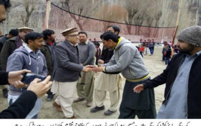 کھرمنگ میں جشن نوروز اور یوم پاکستان کی مناسبت سے تین روزہ کھیلوں کا آغاز