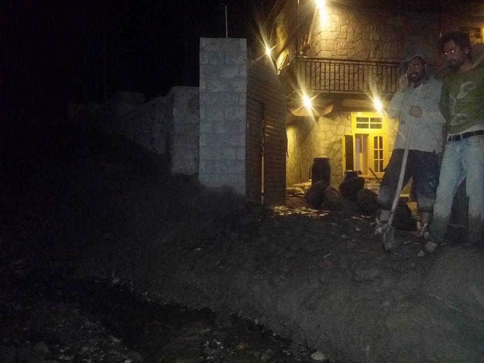 ہنزہ: علی آبادنالے میں سیلابی کیفیت جاری، مقامی آبادی متاثر
