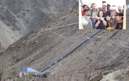 چترال: تاریخی گاؤں مروئے پائیں میں پیڈو پراجیکٹ کے تحت 50کلوواٹ ہائیڈرو پاؤر سٹیشن نے کام شروع کردیا