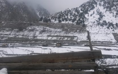 گلگت بلتستان میں بارشوں اور برفباری نے تباہی مچا دی، متعدد سڑکیں بند