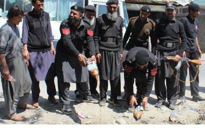 دیامر میں غیر معیاری ادویات کے خلاف کاروائی جاری