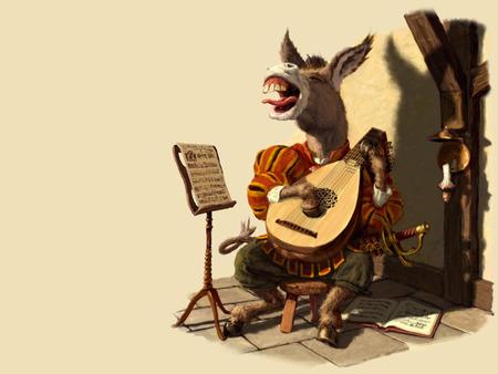 گدھا، جسے گانے کا بڑا شوق تھا۔۔۔!