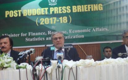 وفاقی وزیر خزانہ سکردو روڈ منصوبے کے لئے فنڈزکے حوالے سےسوال کاجواب گول کرگئے