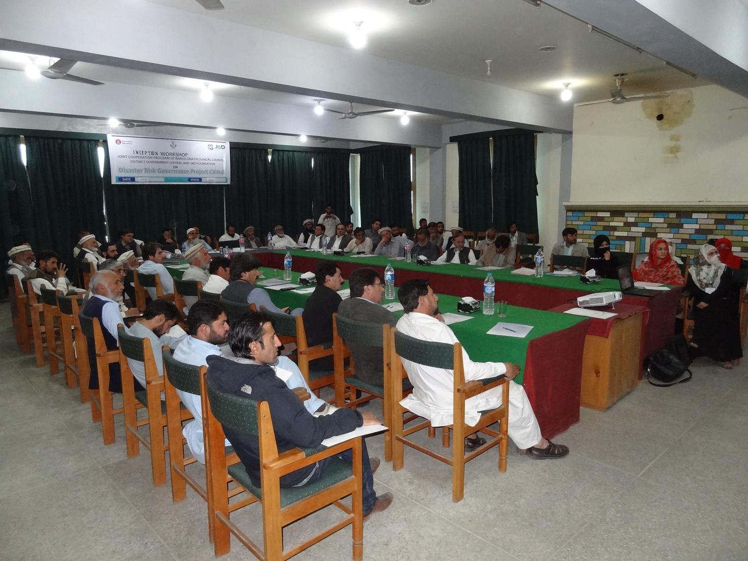 چترال میں قدرتی آفات سے متعلق نئے منصوبے کا تعارفی پروگرام منعقد