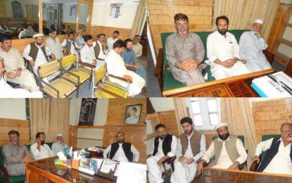 چترال شہر اور مضافات کے علاقوں کوایس آر ایس پی دو میگاواٹ بجلی گھر سے بجلی کی فراہمی کے لئے شیڈول ترتیب دی گئ