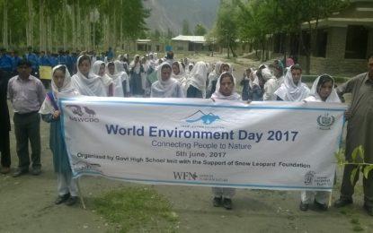 گورنمنٹ ہائی سکول ایمت میں عالمی یوم ماحولیات کی تقریب منعقد، آگاہی ریلی نکالی گئی