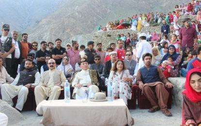 قلعہ بلتت میں روایتی تہوار گنانی جوش و خروش سے منایا گیا، میر غضنفر علی خان مہمان خصوصی تھے