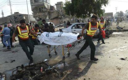 لاہور دھماکہ ،دشمن کے مقدر میں اب میں رسوائی ہے