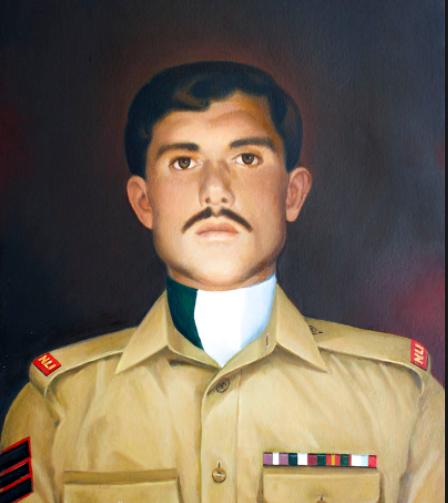 لالک جان گلگت بلتستان کا مایہ ناز فرزند، ہر پاکستانی کو شہید پر فخر ہے، بریگیڈئیر طاہر راشد کا برسی کے موقعے پر تقریب سے خطاب