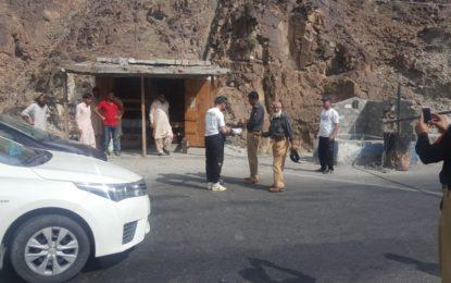 بابوسر اور چلاس میں سیاحوں اور مسافروں کی چیکنگ کے عمل میں لاپرواہی برداشت نہیں کی جائے گی، ایس ایس پی محی الدین