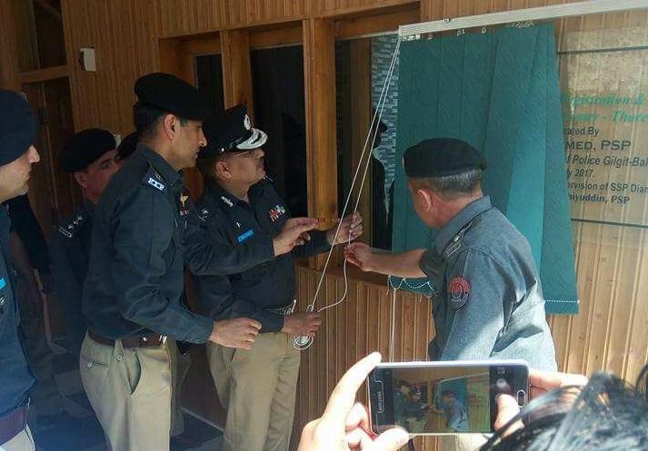 گلگت بلتستان میں محکمہ انسداد دہشتگردی کا قیام عمل میں لایا جارہا ہے، آئی جی صابر احمد کا چلاس میں پولیس دربار سے خطاب