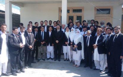 چیف جسٹس پشاور ہائیکورٹ نے چترال ڈسٹرکٹ عدالتوں کا دورہ کیا، مسائل حل کرنے کی یقین دہانی