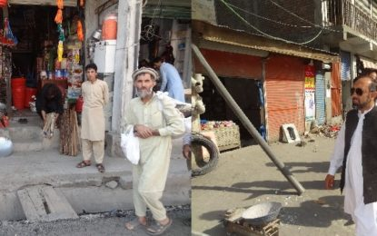 چترال بازار میں تجاوزات کے خلاف کاروائی، آٹھ دکانداروں کے خلاف مقدمہ درج